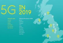 EE 5G network coverage in 2019
