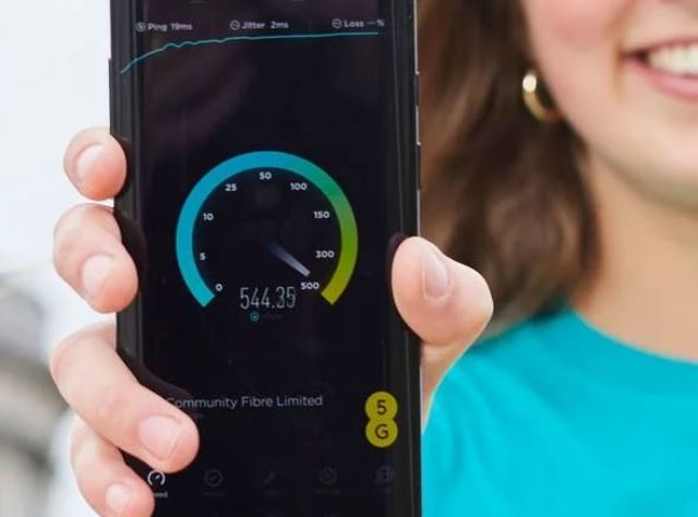 EE 5G network speed