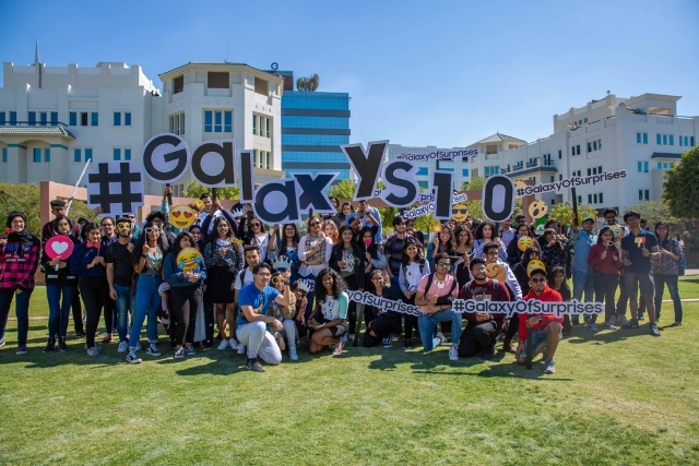 #GalaxyOfSurprises campaign in Gulf