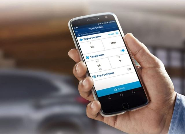 Hyundai Venue powered by Vodafone Idea