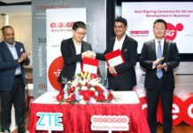 Ooredoo Myanmar 5G and ZTE