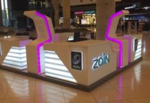 Zain retail shop