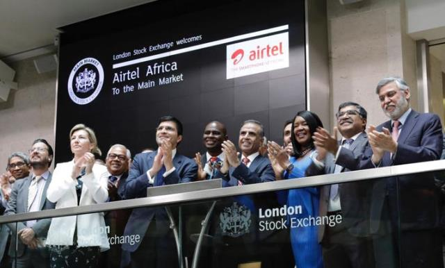 Airtel Africa listing on London Stock Exchange