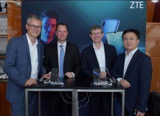 ZTE 5G Smartphone in Austria