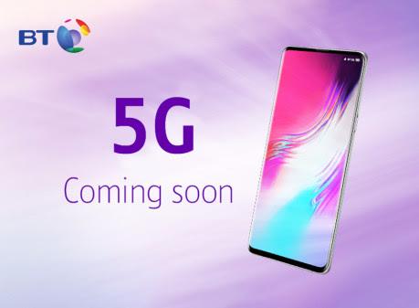 BT 5G launch in 2019