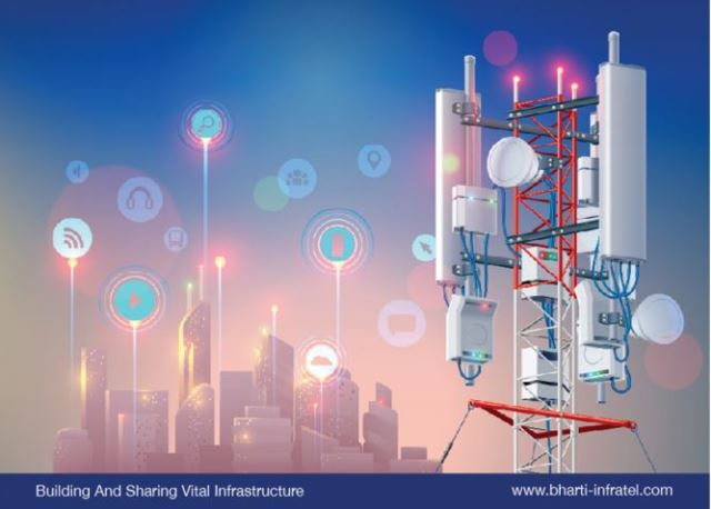 Bharti Infratel telecom towers India