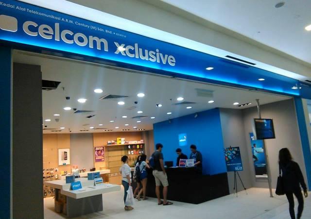 Celcom store Malaysia