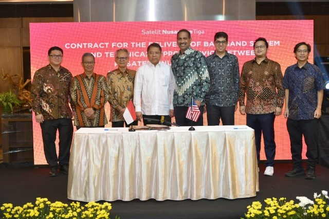 Hughes Network satellite deal in Indonesia