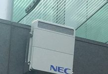 NEC Radio unit for 5G base station equipment