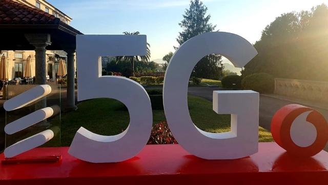 Vodafone 5G on Ericsson
