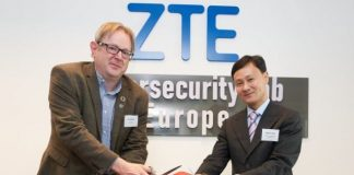 ZTE Cybersecurity Lab Europe in Brussels