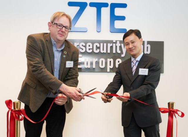 ZTE Cybersecurity Lab Europe in Brussels