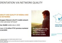 Bouygues Telecom network
