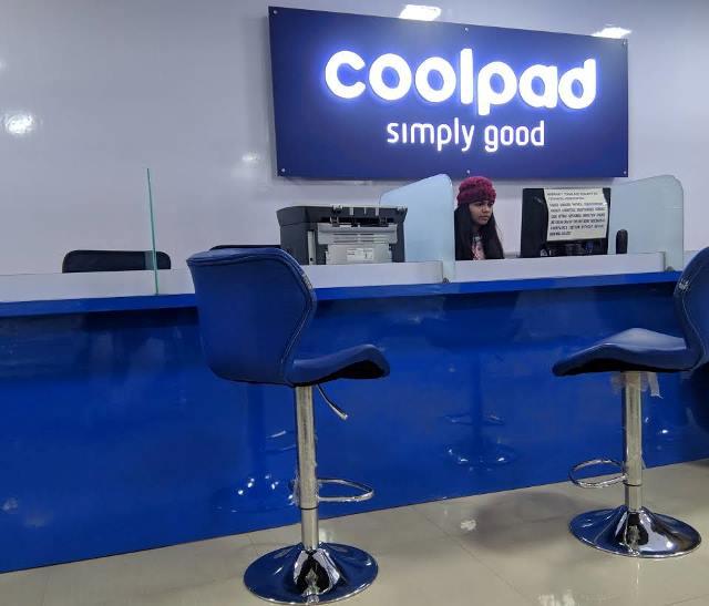 Coolpad retail shop