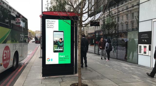 Google Pixel smartphone campaign
