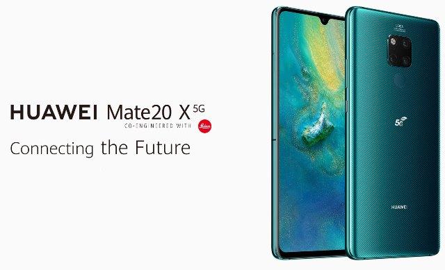Huawei Mate 20 X 5G smartphone