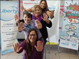 Liberty Latin America PR team