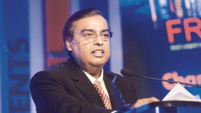 Mukesh Ambani at RIL AGM in 2019