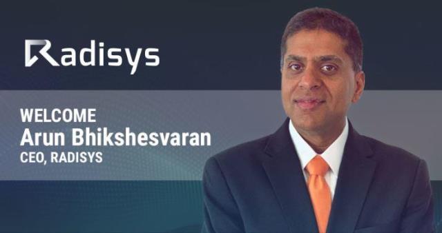 Radisys CEO Arun Bhikshesvaran