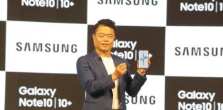 Samsung launches Galaxy Note 10 in India