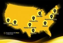 Sprint 5G coverage August 2019