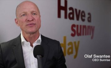 Sunrise CEO Olaf Swantee