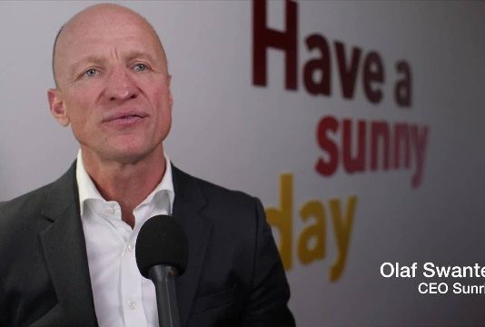 Sunrise CEO Olaf Swantee