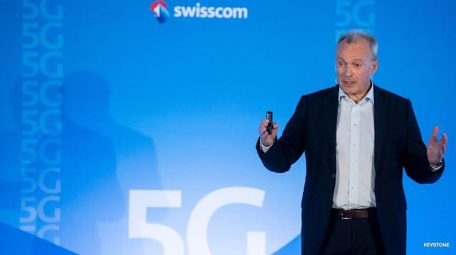 Swisscom CEO Urs Schaeppi on 5G