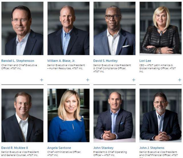 AT&T leadership team