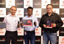 Airtel Xstream management team