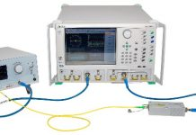 Anritsu India modular opto-electronic network analyzer system