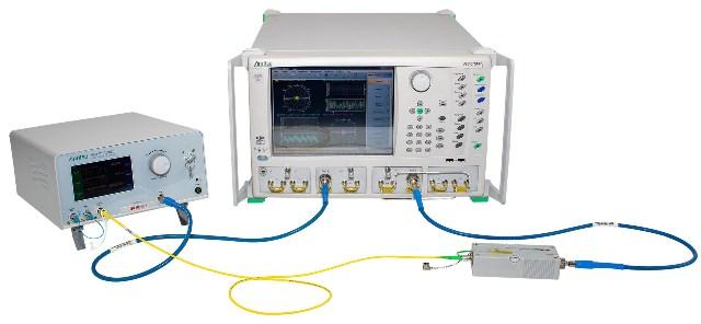 Anritsu India modular opto-electronic network analyzer system