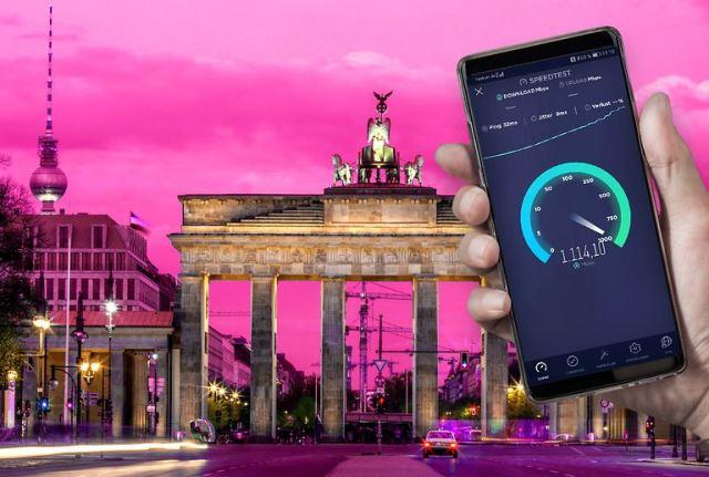 Deutsche Telekom 5G network coverage
