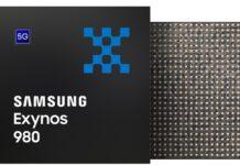 Samsung Exynos 980 5G processor