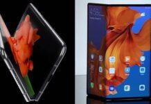 Samsung Galaxy Fold and Huawei Mate X