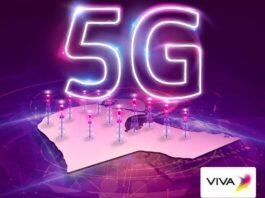 VIVA Kuwait 5G network
