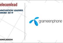 Grameenphone winners of TelecomLead.com Innovation Leaders 2019 award
