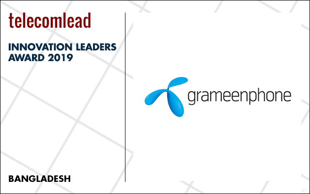 Grameenphone winners of TelecomLead.com Innovation Leaders 2019 award