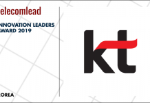KT winners of TelecomLead.com Innovation Leaders 2019 award