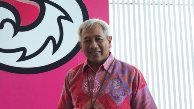 M. Danny Buldansyah, vice president director of Hutchison 3 Indonesia