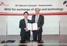 SK Telecom and BreezoMeter
