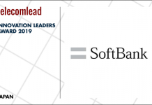 Softbank winners of TelecomLead.com Innovation Leaders 2019 award