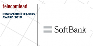 Softbank winners of TelecomLead.com Innovation Leaders 2019 award