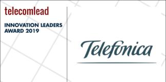 Telefonica winners of TelecomLead.com Innovation Leaders 2019 award
