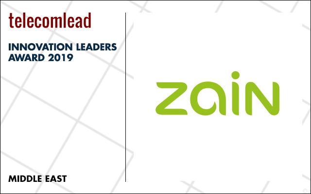 Zain winners of TelecomLead.com Innovation Leaders 2019 award