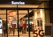 Sunrise 5G network