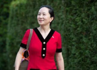 Huawei CFO Meng Wanzhou in Canada
