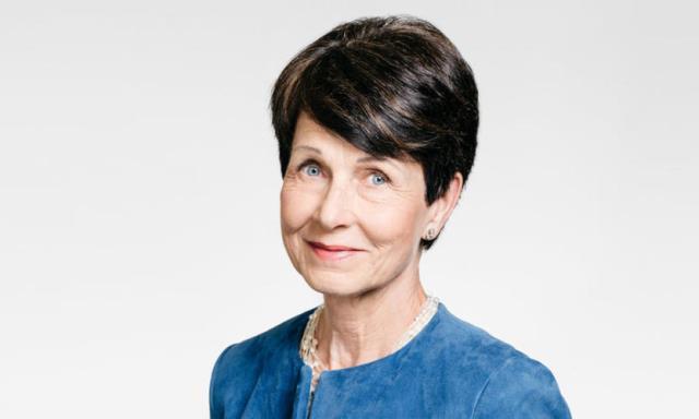 Nokia chairman Sari Baldauf