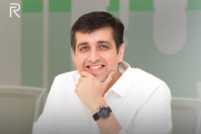 Realme CEO Madhav Sheth
