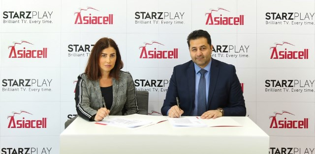 STARZPLAY and Asiacell Iraq